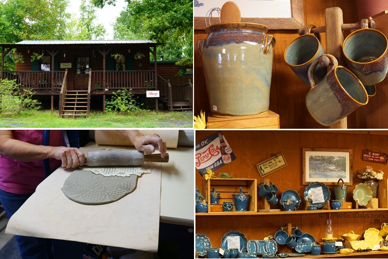 Lathams Pottery in seagrove, north carolina