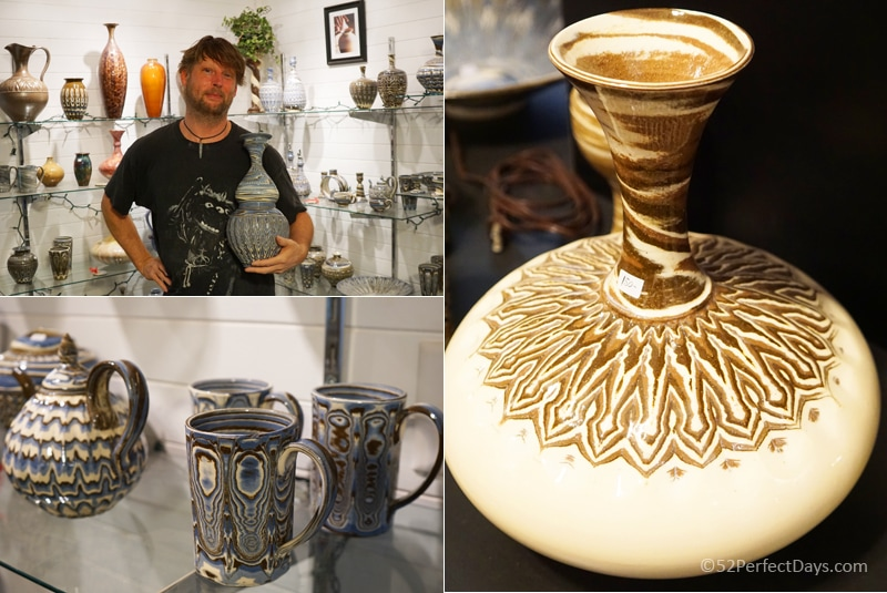 Eck McCanless Pottery in Seagrove, North Carolina