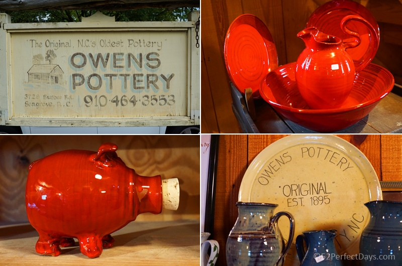 Owens Pottery, Seagrove, North Carolina