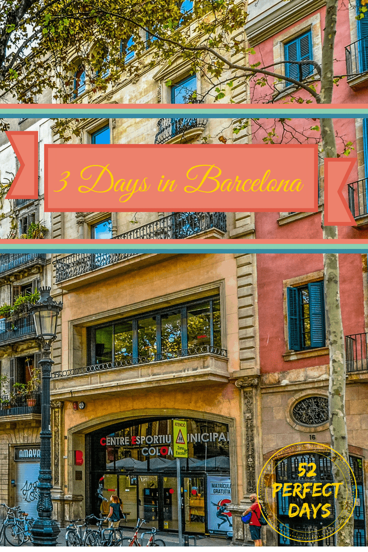How to Spend 3 Days in Barcelona. With just three days in Barcelona you can explore this multi-faceted city to the max and explore great restaurants, museums and more! #barcelona #spain #europe #travel
