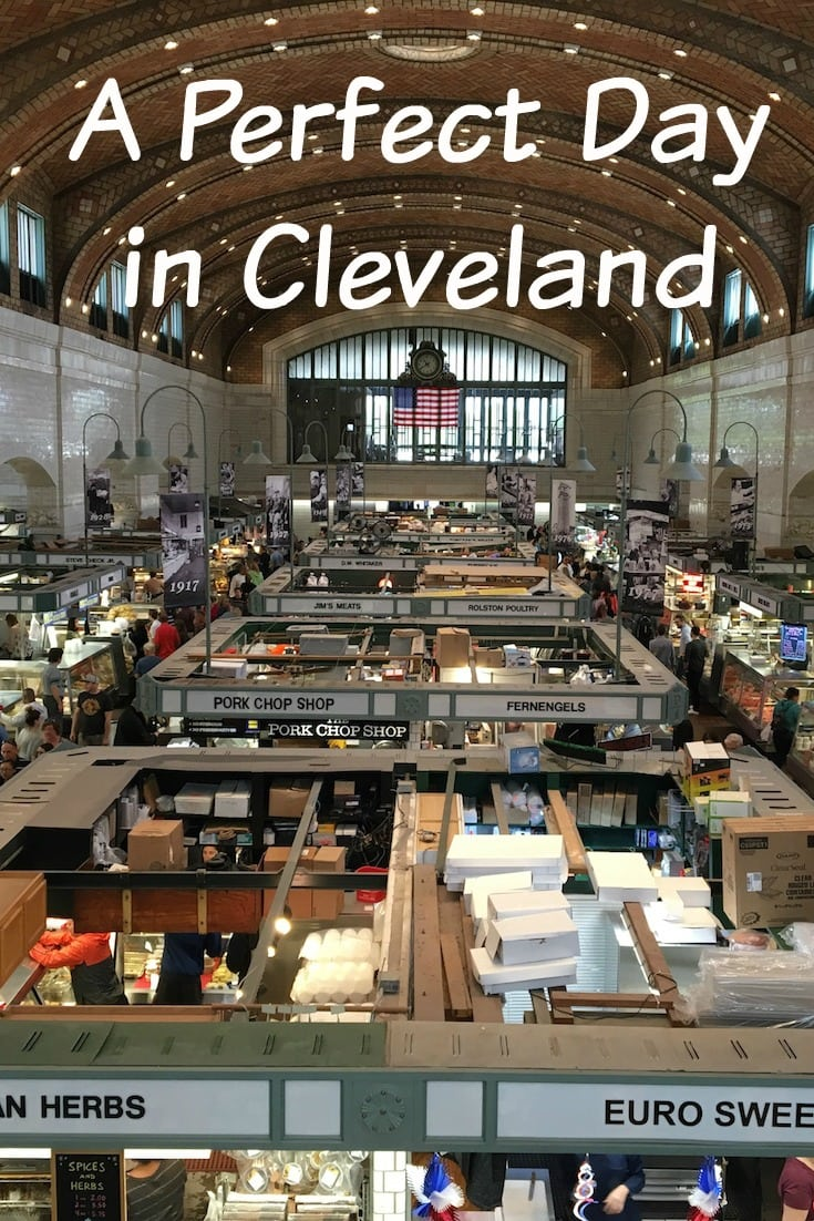 Here is everything you need to do for a perfect day in Cleveland! This itinerary includes an entire day of Cleveland activities from brunch to nightlife. Enjoy Cleveland classics such as the West Side Market and unique activities such as a board game bar. #cleveland #ohio #USA #travel
