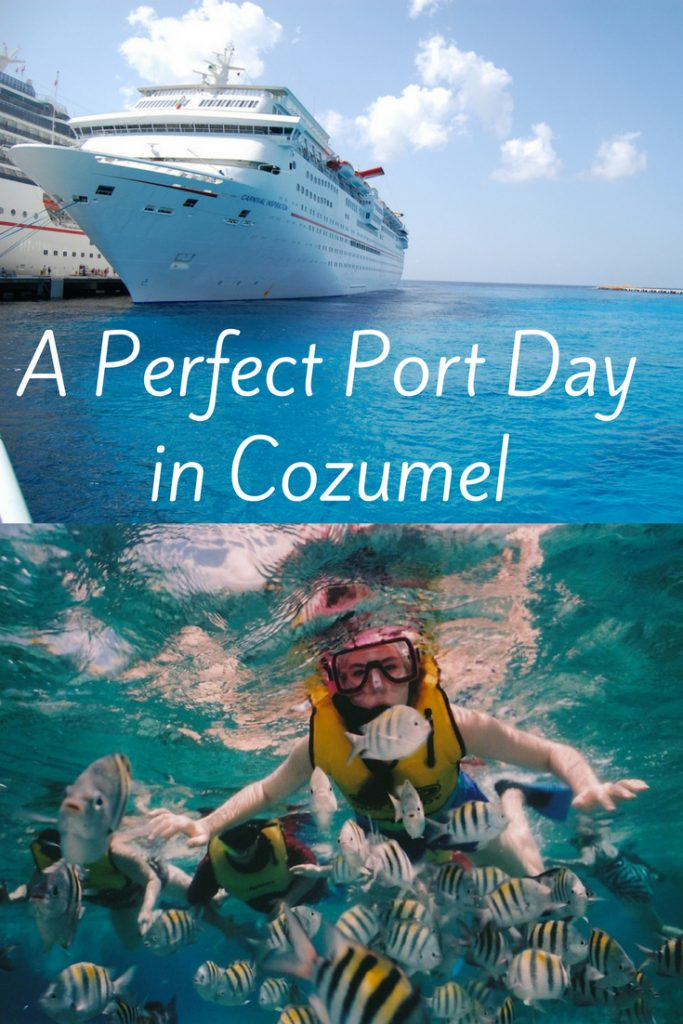 Perfect day in Cozumel, Mexico