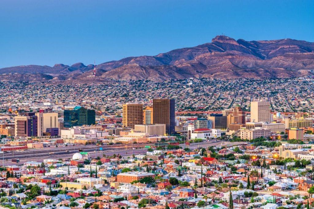 View of El Paso, Texas