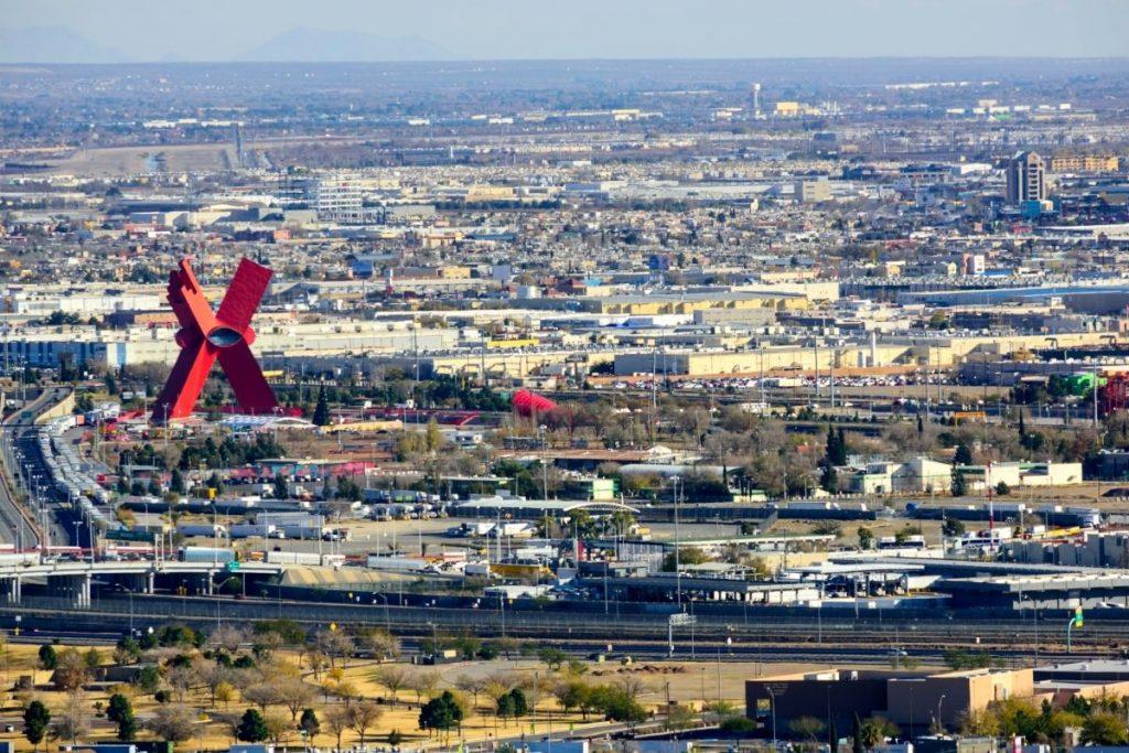 View of Juarez, Mexico X