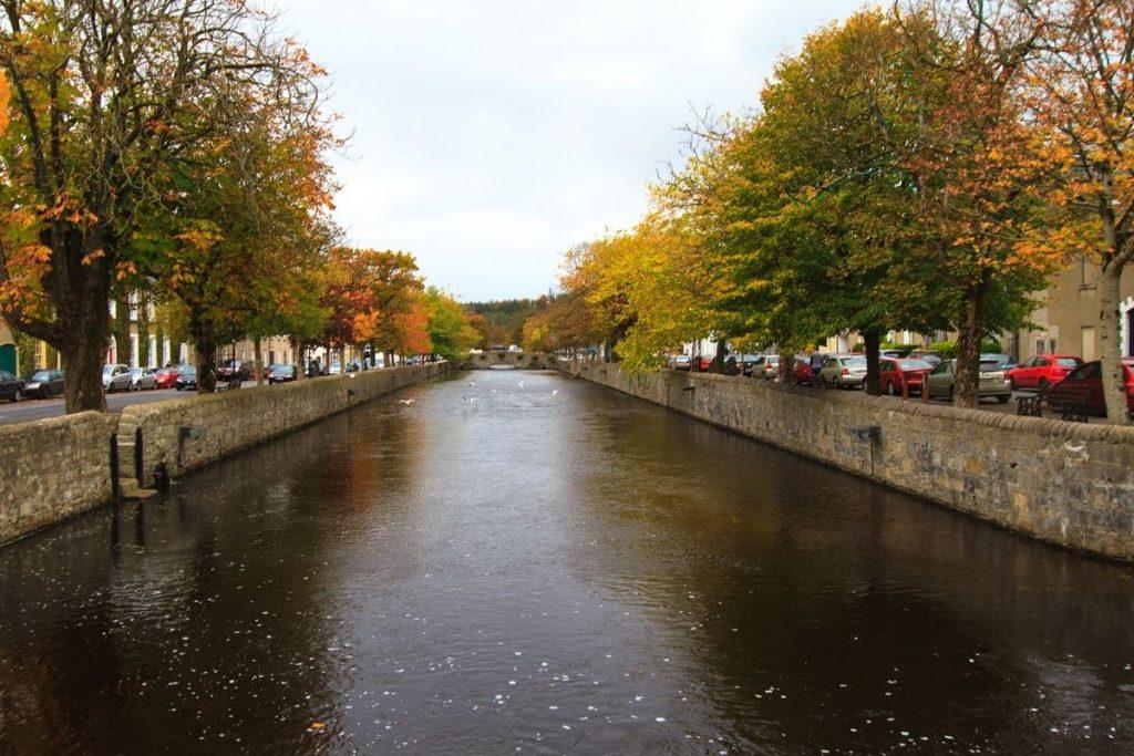Westport canal in Ireland