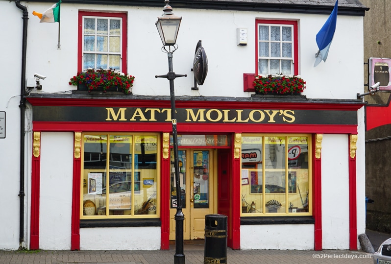 Matt Malloy's in Westport, Ireland