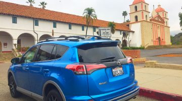RAV4 in Santa Barbara