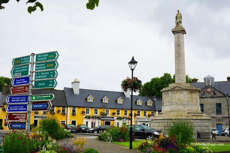 Westport, Ireland town center