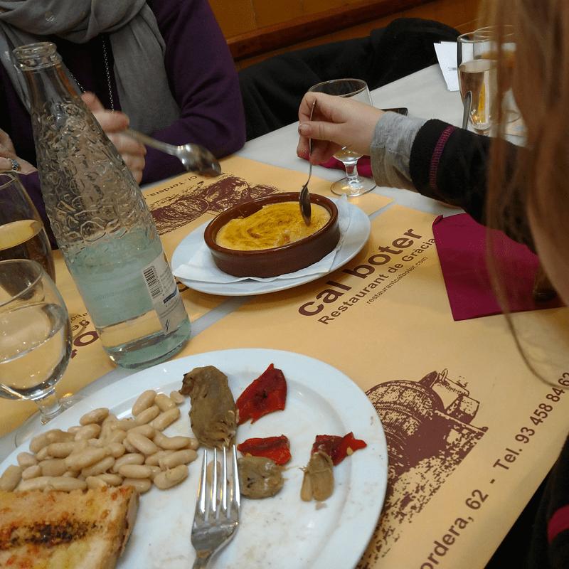 Crema Catalana at Cal Boter