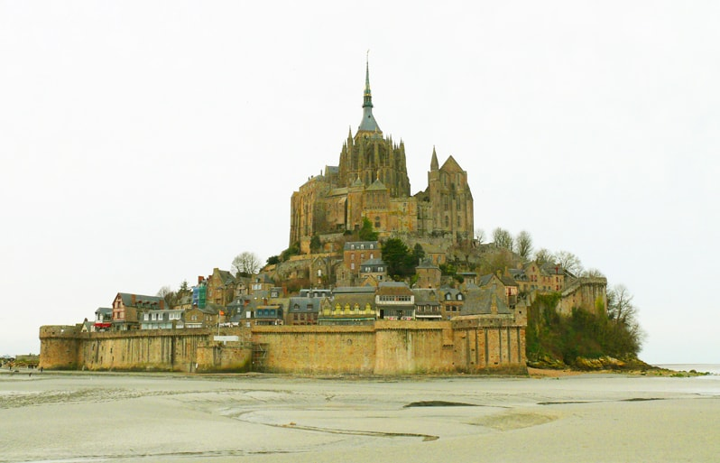 Mount Saint Michel, Spain