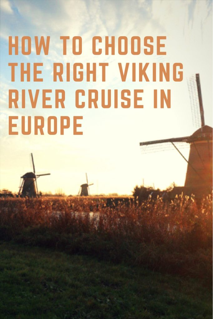 Thinking about a future river cruise in Europe? We've outlined how to Choose the Right Viking River Cruise in Europe. #viking #rivercruise #europe #travel