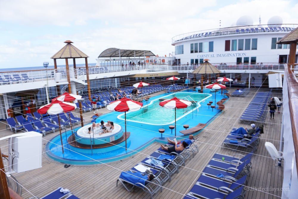 carnival imagination pool