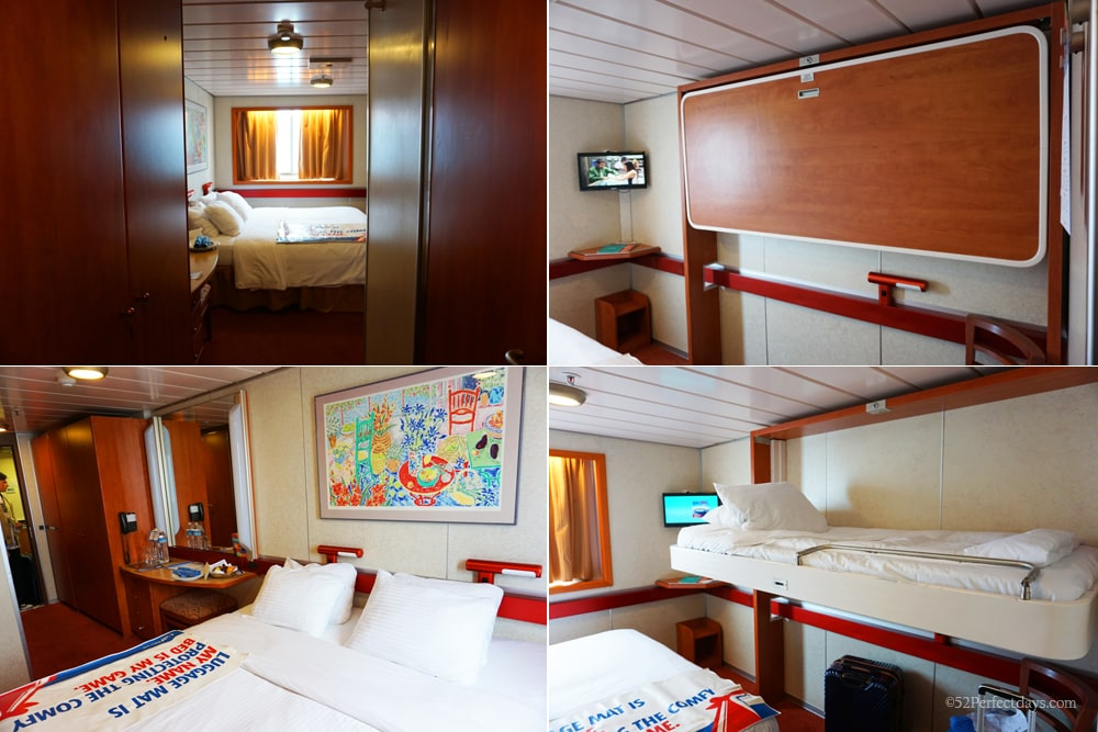 Stateroom on Carnival