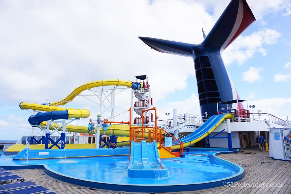 Waterworks on Carnival Imagination