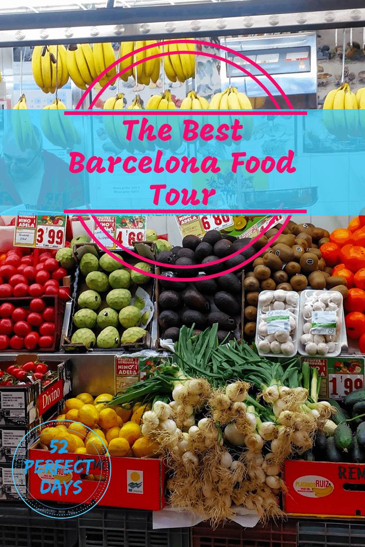 Best Barcelona Food Tour: A Sampling of the Gracia Neighborhood. Taste tapas, paella,  jamon (ham), cheese, cava, Catalan cured meats and coffee. #foodie #travel #spain #barcelona