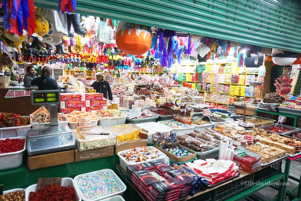 Dulceria Ayala candy store in Rosarito