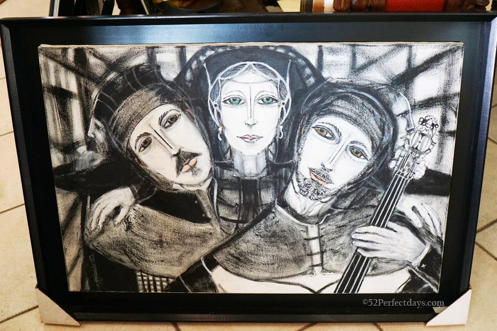 Monte Cristo Art in Rosarito