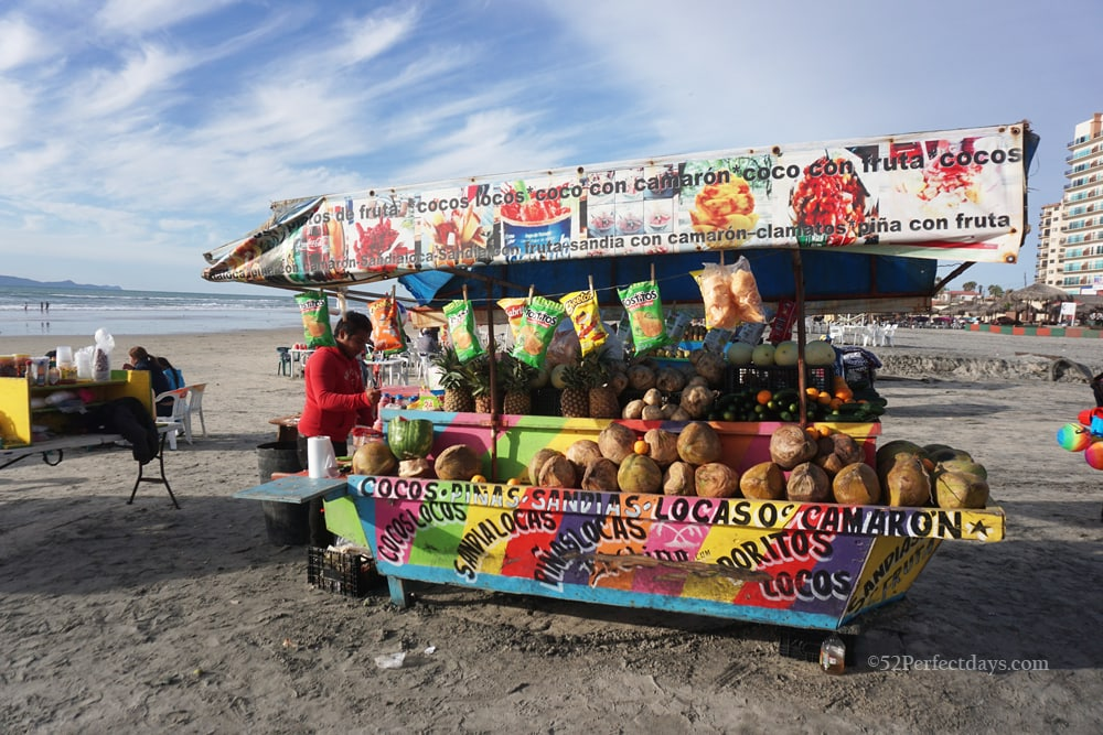 Beach Vendors in Rosarito