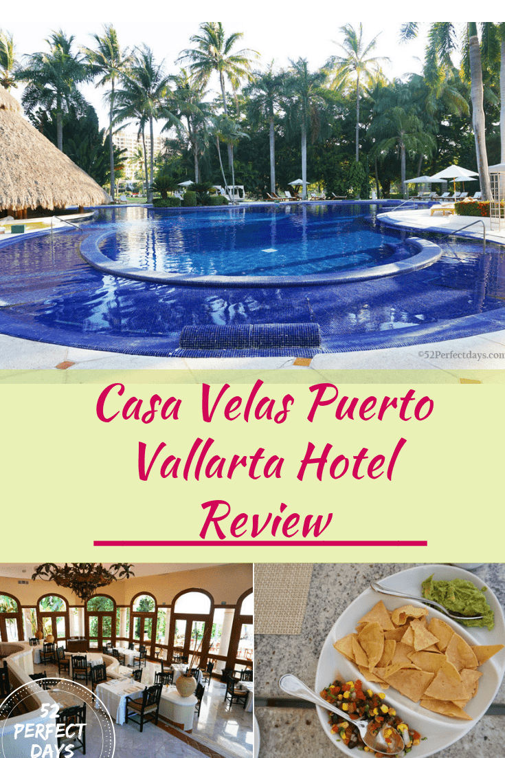 Casa Velas Puerto Vallarta is one of Mexico's most beautiful resorts. A perfect tropical vacation if you are seeking a bit of history, romance & gorgeous beaches! #hotelreview #mexico #northamerica #travelUSA #casavelas
