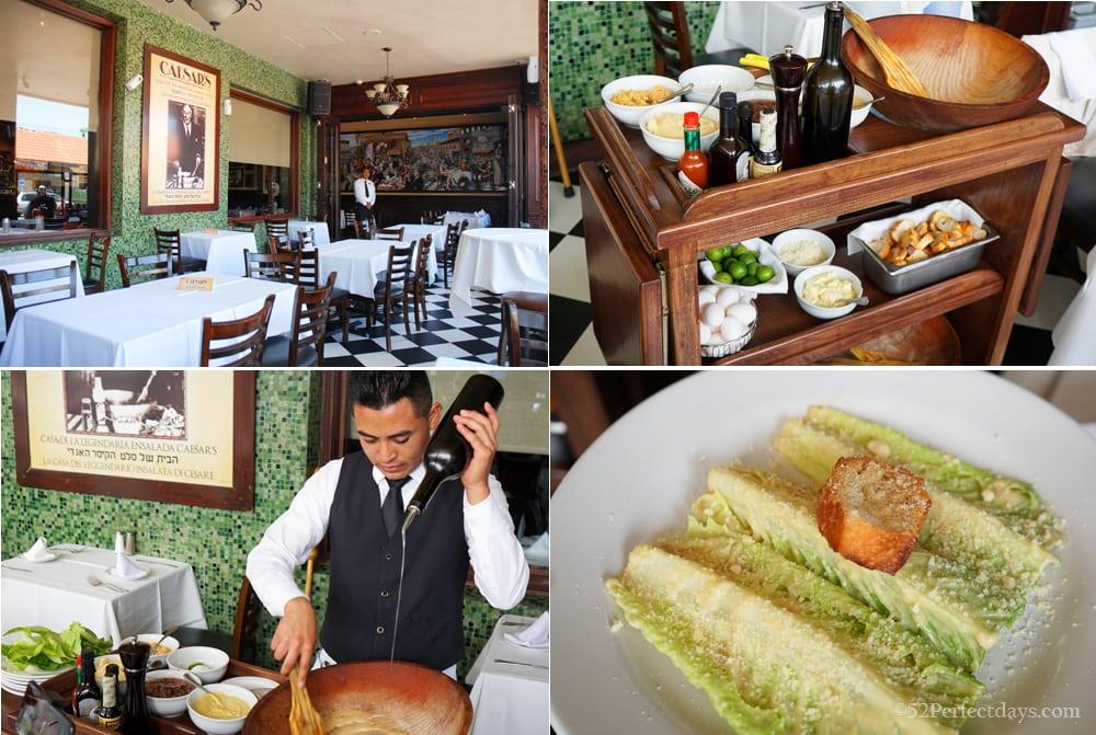 Caesar's Restaurant in Tijuana