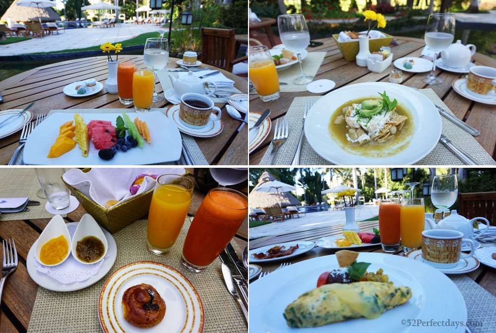 Breakfast at Casa Velas