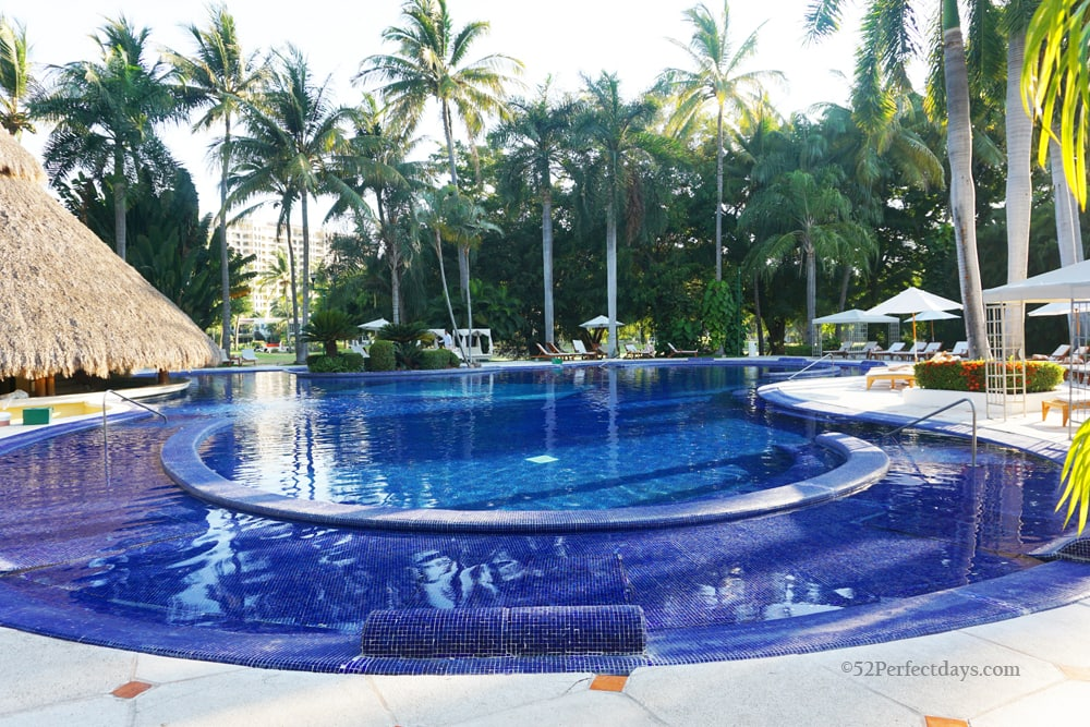 Pool at casa velas in puerto vallarta