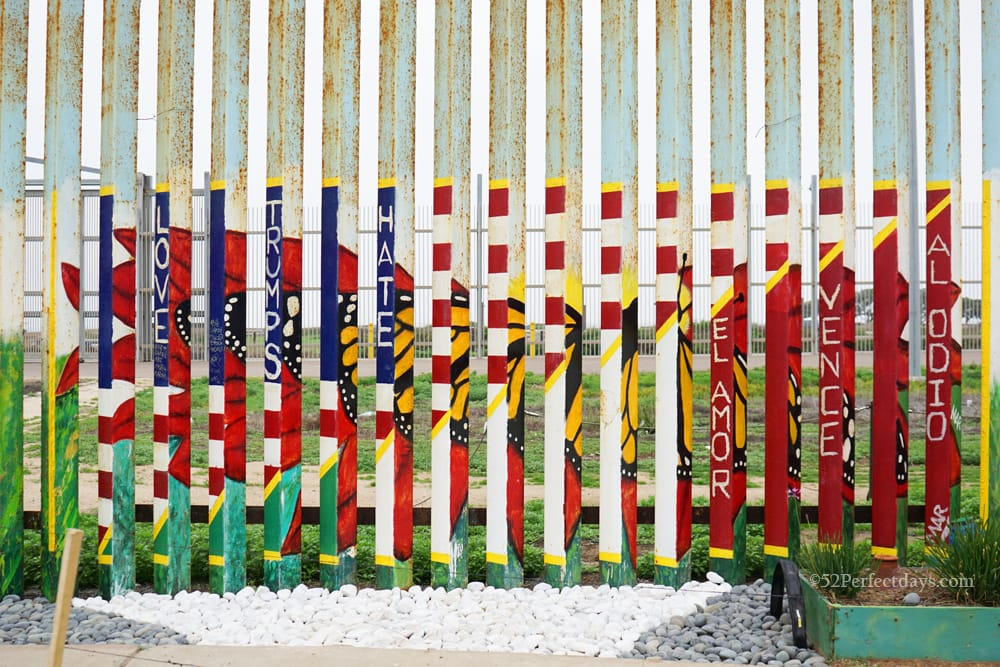 Wall in Playas de Tijuana