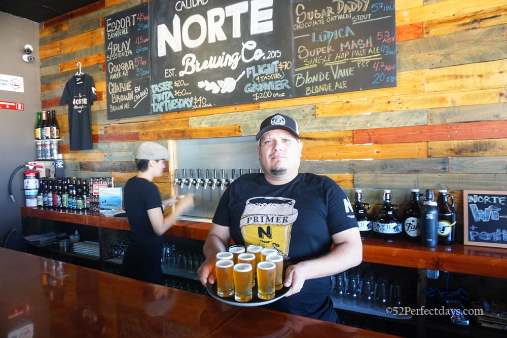 Norte Brewing in Tijuana