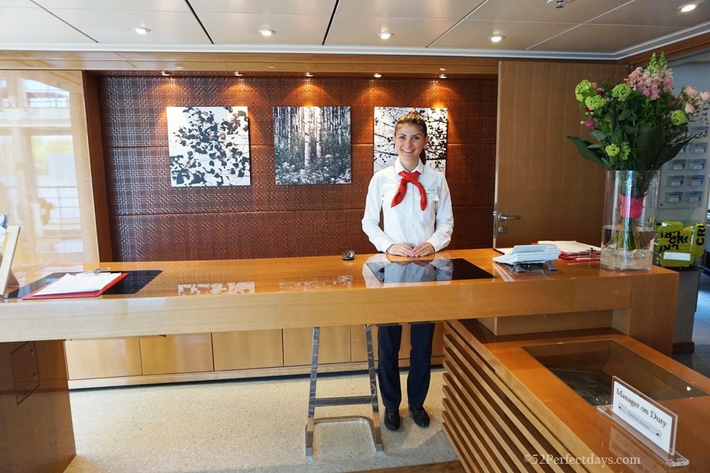 Concierge on Viking Ship