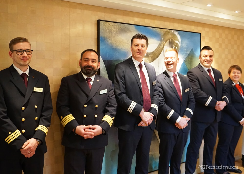 Viking River Cruise Officers