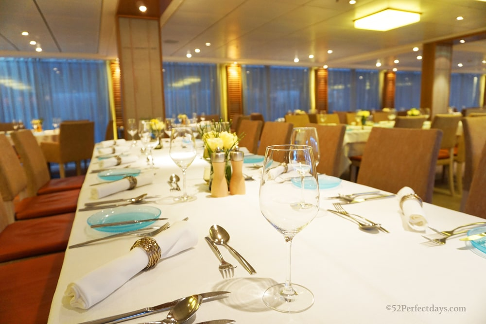 Dining Room on Viking Cruise