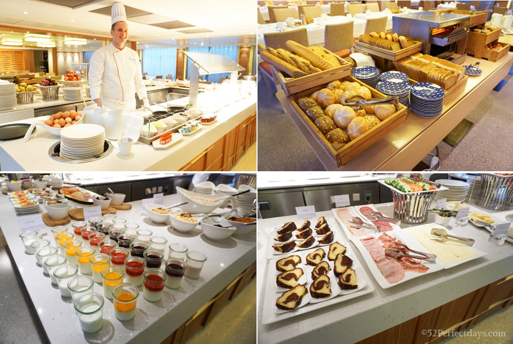 Breakfast on Viking River Cruise