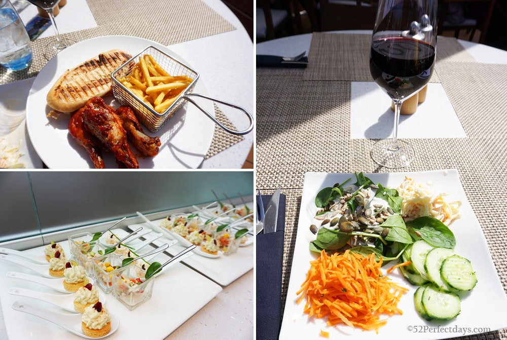 lunch on Viking River Cruise