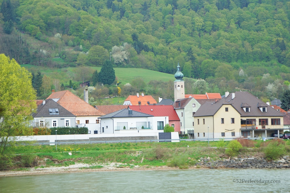 Wachau Valley on Danube River