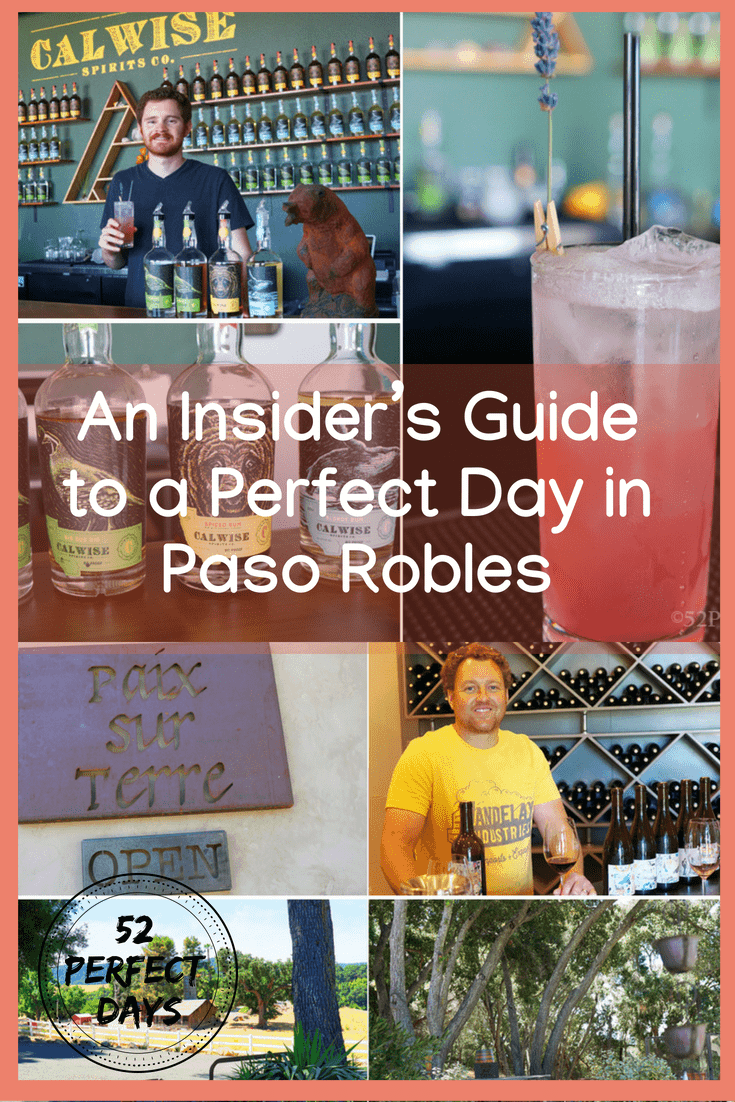 How to spend one perfect day in Paso Robles, California. Beyond theworld-class wine, you'll find top-notch breweries, craft distilleries, and elevated eateries. #Pasorobles #california #breweries #wine #travel #USA