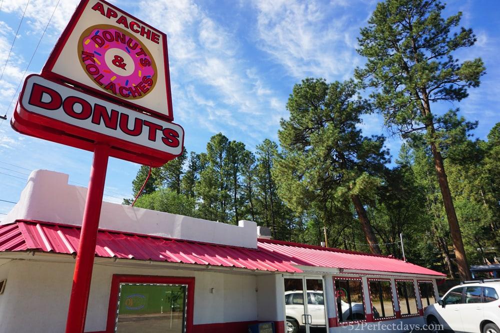 Apache Donuts in Ruidoso