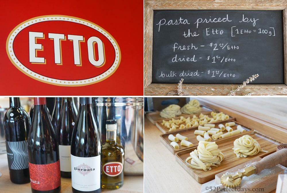 Ettoo Pasta in Paso Robles