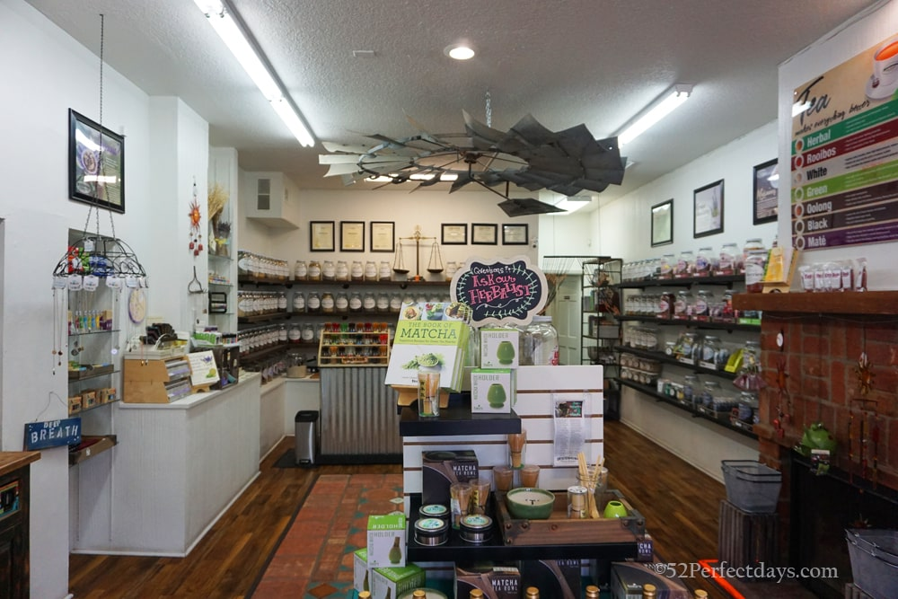 Natural remedies tea shop