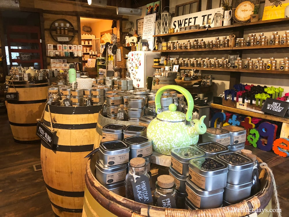 old barrel tea shop