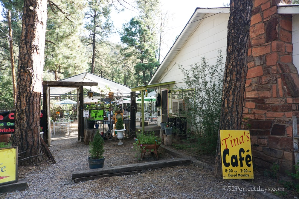 Tina's cafe in Ruidoso
