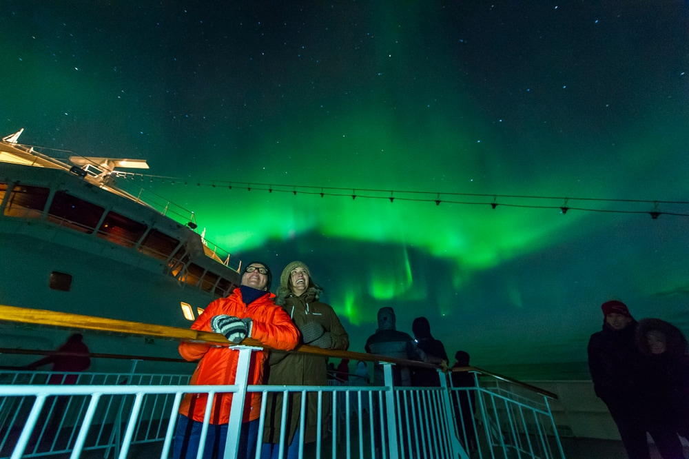 Hurtigruten Northern Lights cruise
