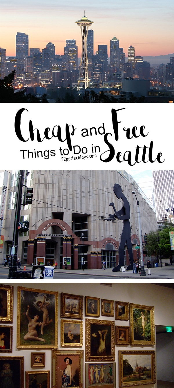 Best Free Things to Do in Seattle #travel #seattle #budgettravel