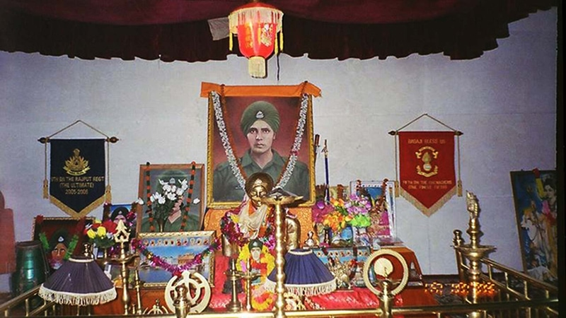 Baba Harbhajan Singh Shrine, India