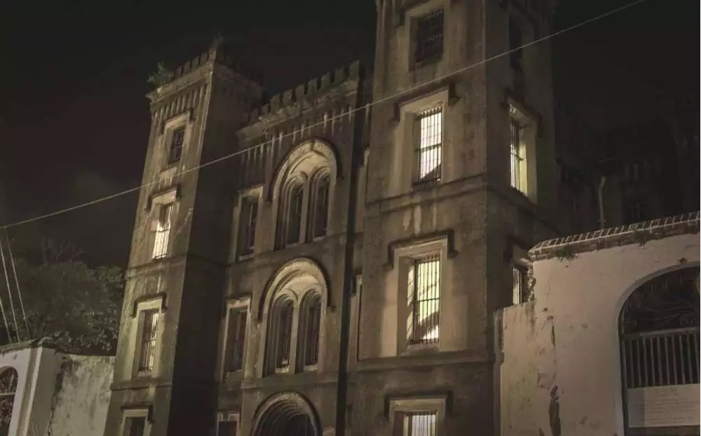 Charleston's Old City Jail is haunted