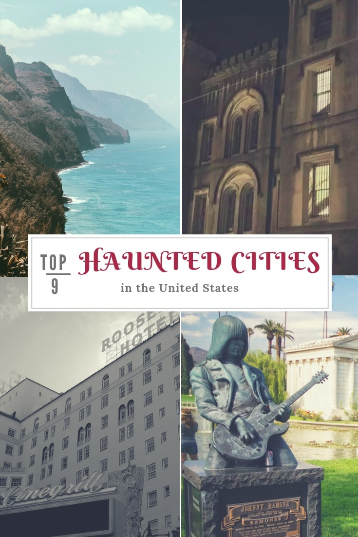 The Top 9 haunted cities to explore in the US, with some creepy and scary