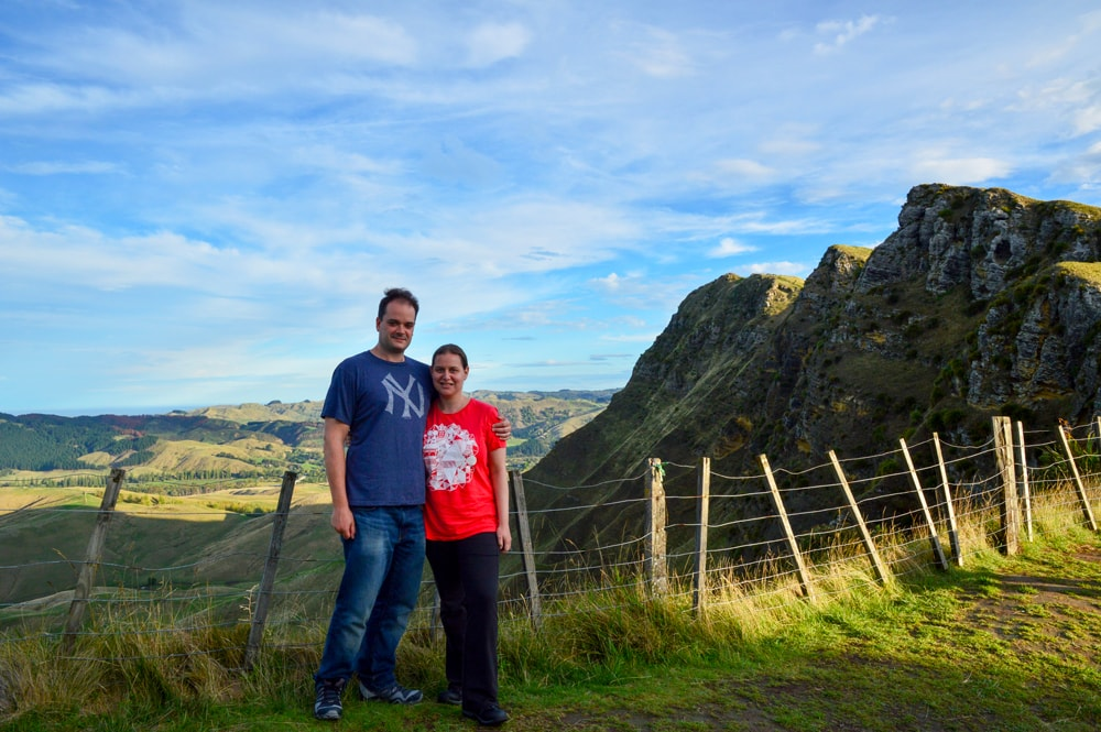 Te Mata Peak in Hawke's Bay which is on the North Island of NZ.