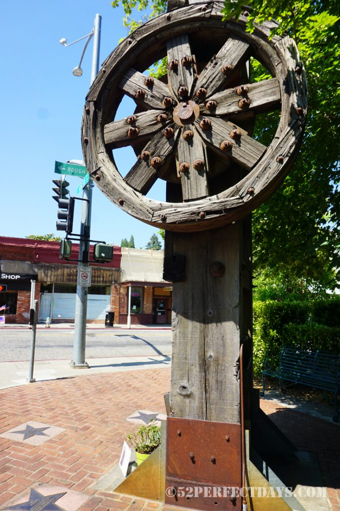 downtown Grass Valley, CA
