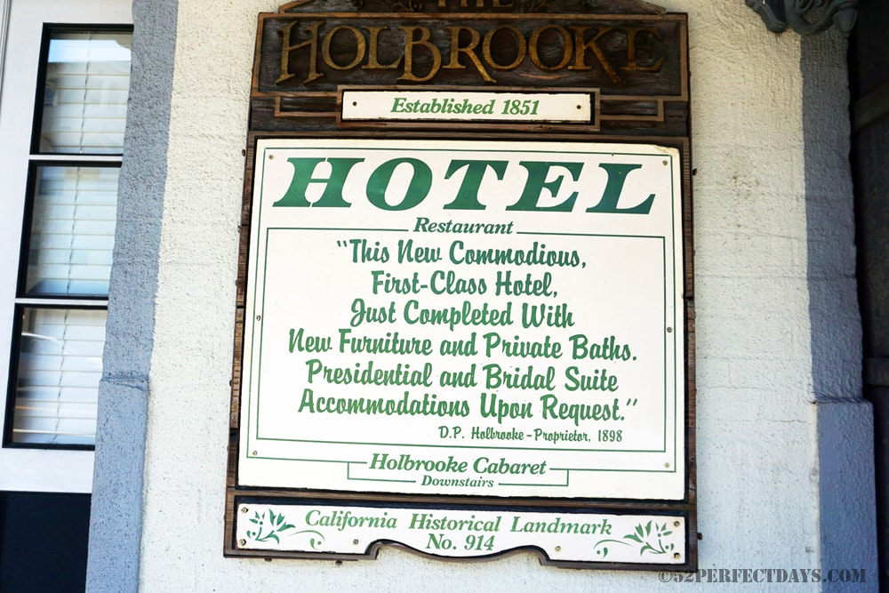 Holbrooke Hotel Grass Valley