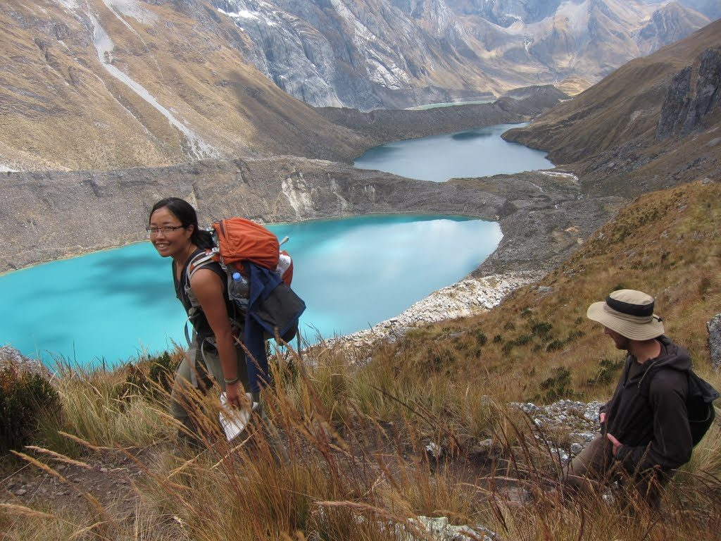 Jack and Jill on Huayhuash Trek, Peru