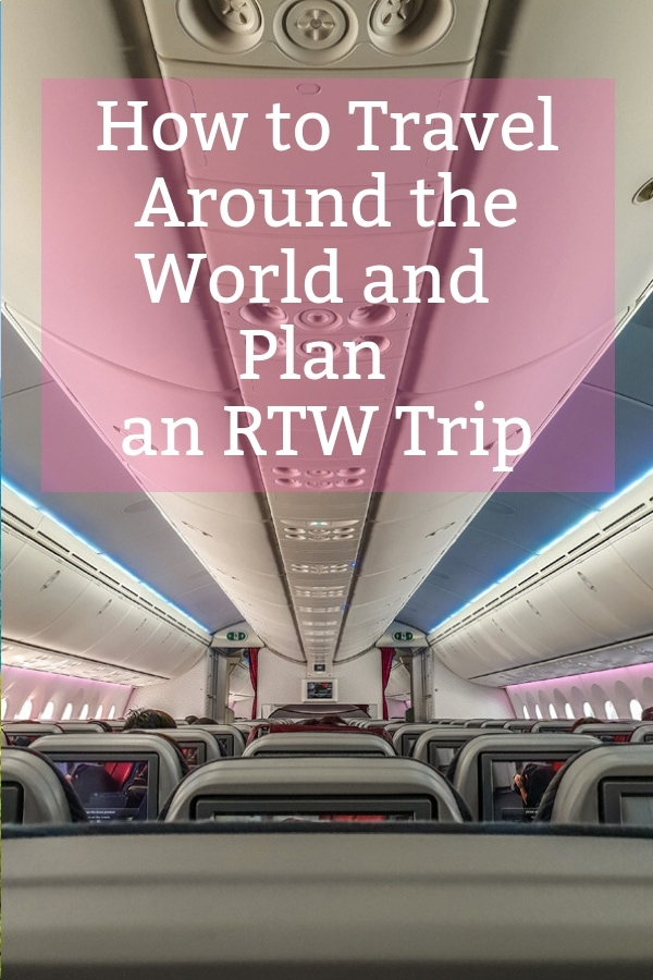Planning a RTW (round the world) trip. Step by Step: how to plan an around the world trip for empty nesters! How to buy an rtw ticket & travel around the world. #rtw #rtwtravel #travel #letsgo